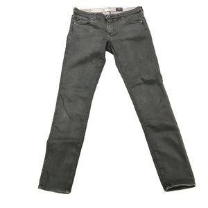 AG Adriano Goldschied Jeans Charcoal Gray wash 27R